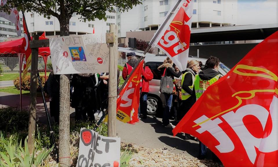 Greve Du Nettoyage A L Hopital De Valenciennes Sous Traite A Onet
