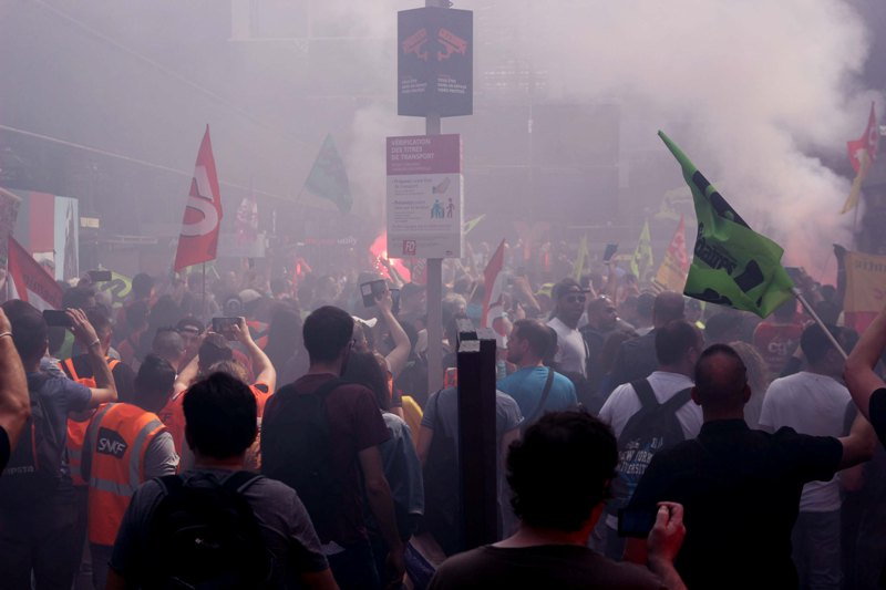 250 millions d'euros de pertes dues aux grèves à la SNCF