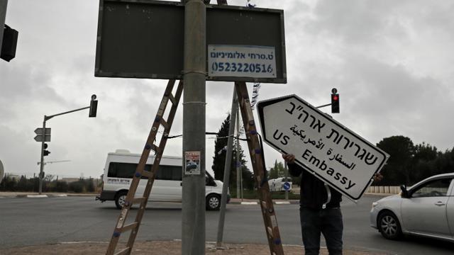 Les Etats-Unis ouvrent leur ambassade — Jérusalem