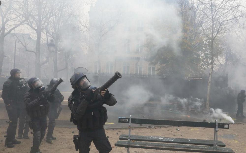 Décès d'une octogénaire blessée par un tir de grenade lacrymogène — Marseille