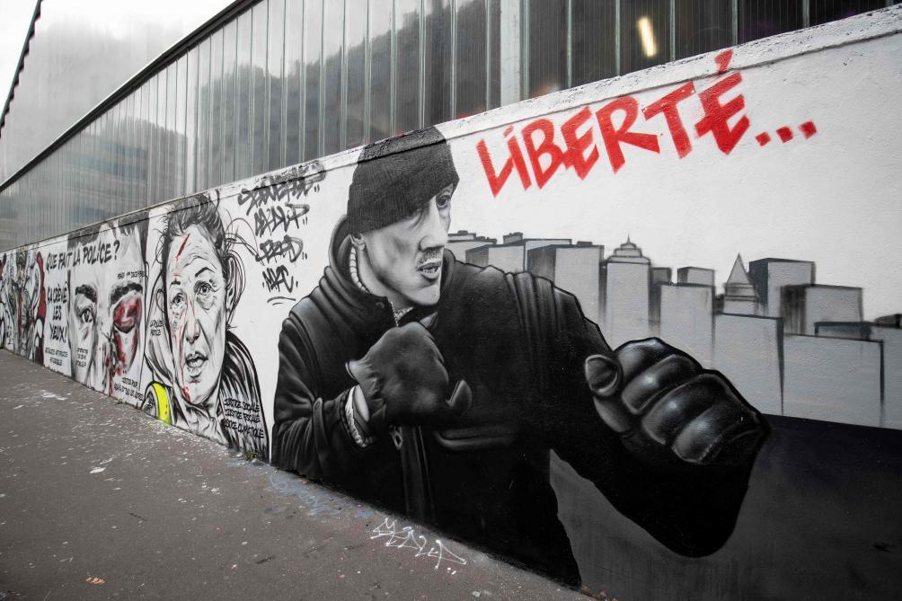 Gilets jaunes : Deux ans ferme requis contre l'ex-boxeur Christophe Dettinger