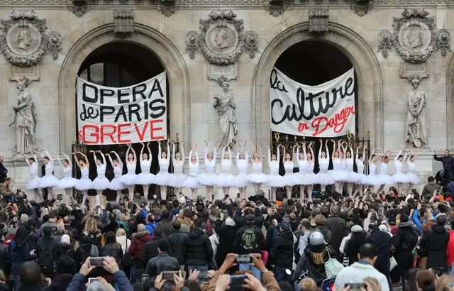 Grèves à l'Opéra de Paris, de Lyon et de Bordeaux
