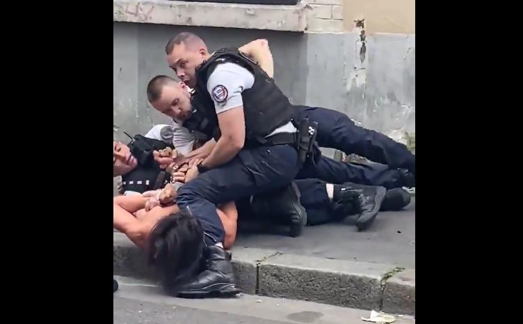 Moha La Squale a été violemment interpellé à Paris — Vidéo