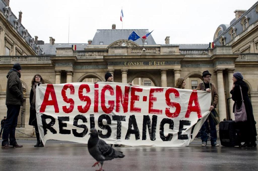 Assignation r sidence premi re claque pour le gouvernement for Haute juridiction administrative