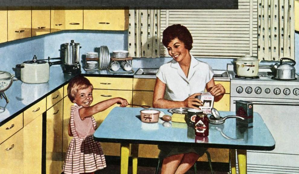 Remaniement hollande renvoie les femmes aux foyers for Femme au foyer 1950