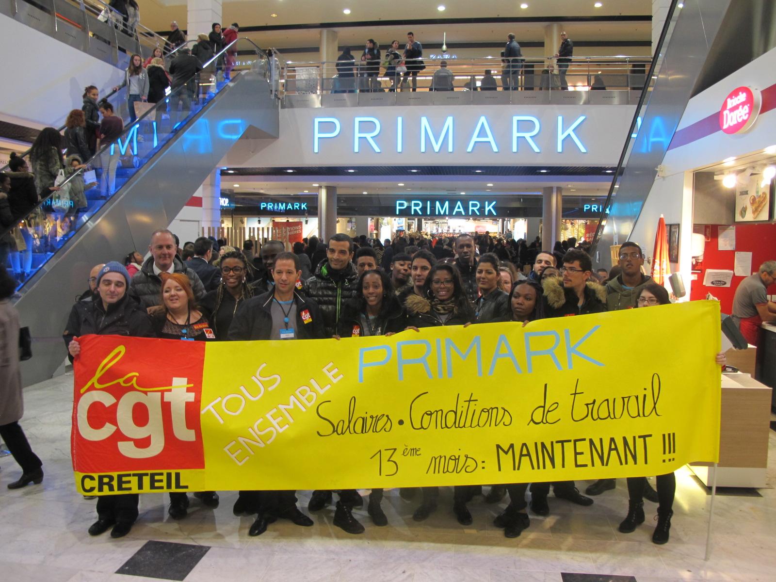 Primark augmente ses salariés…d'un centime d'euro de l'heure
