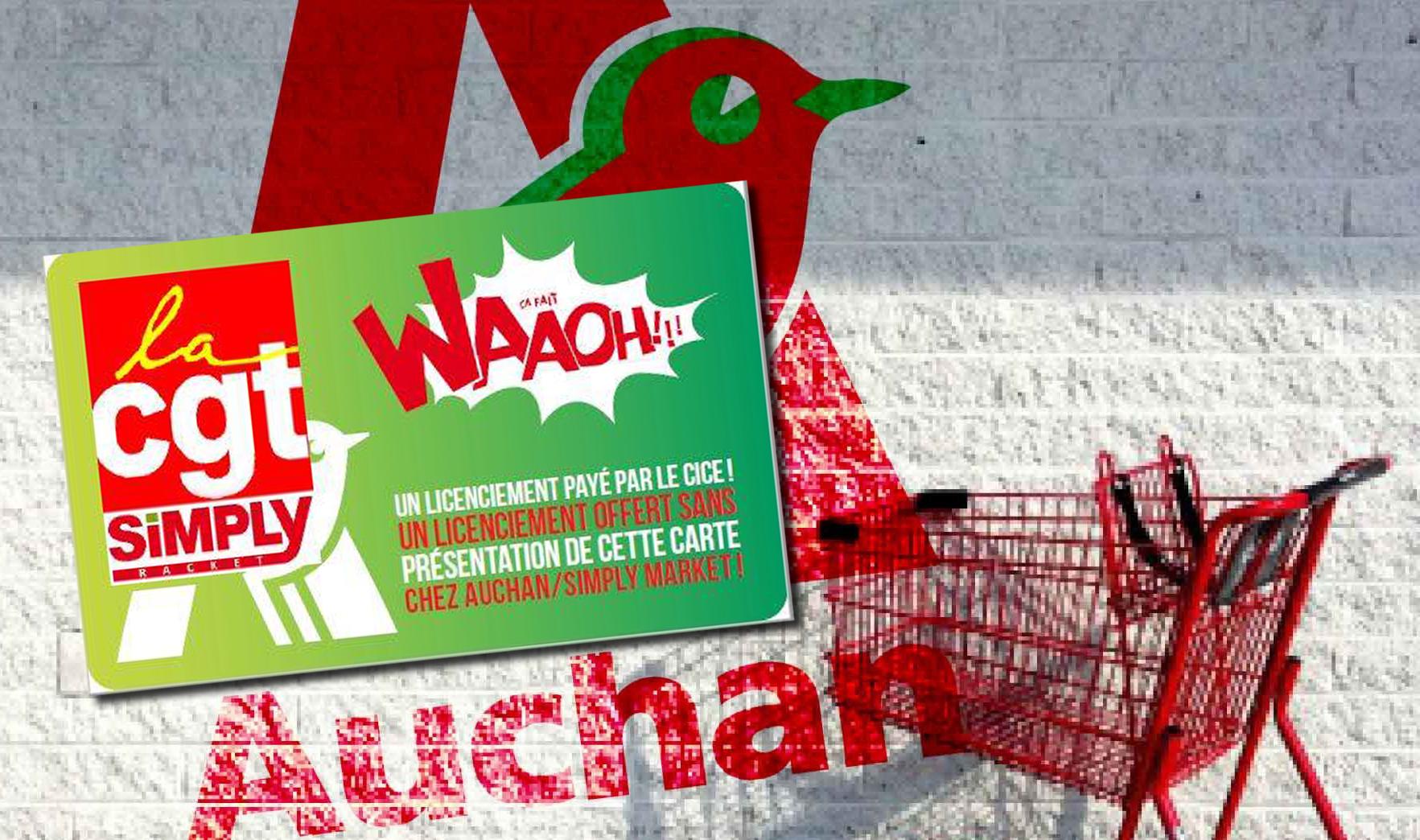 Carte Groupe Auchan.870 Licenciements En Vue Dans Le Groupe Auchan Malgre Les