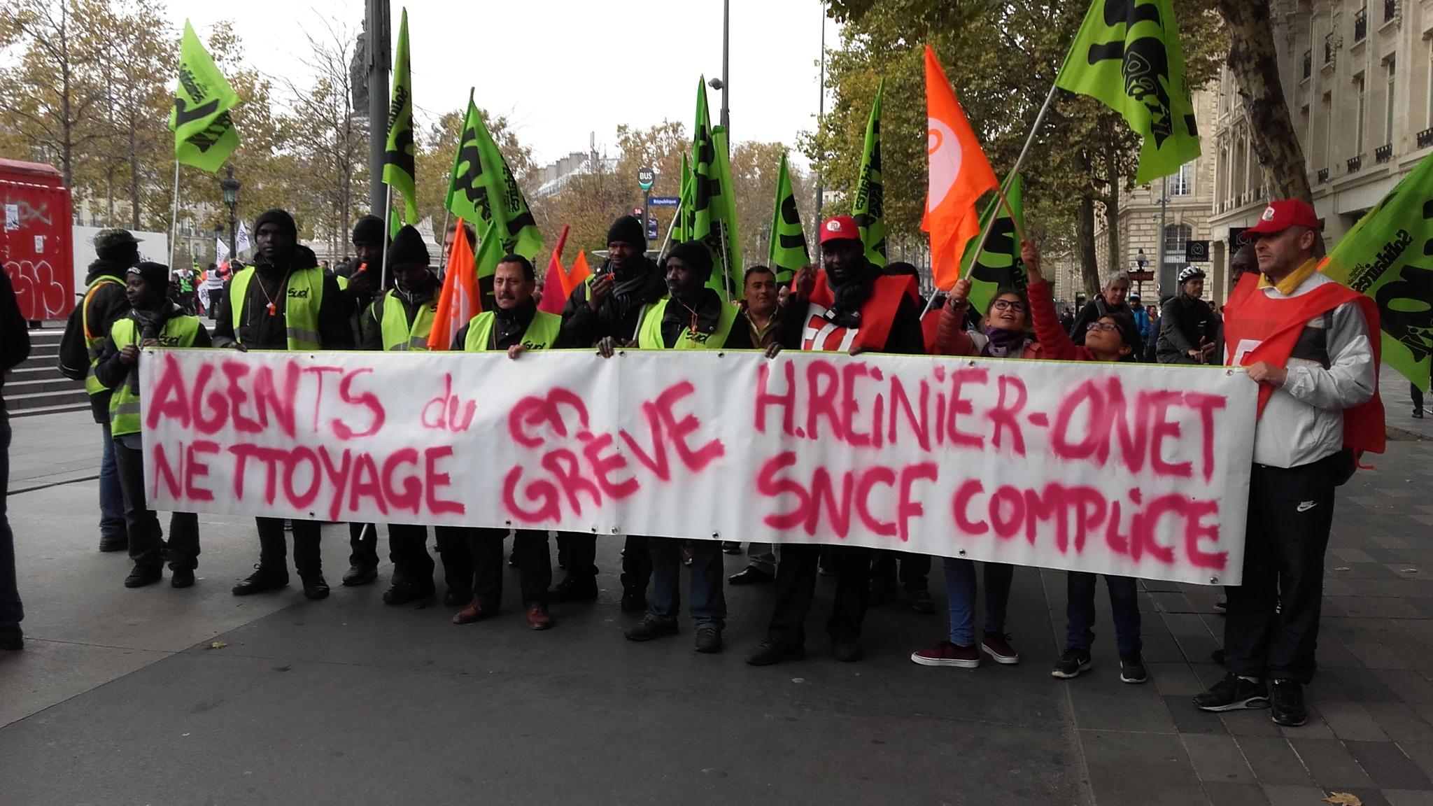 video solidarit des cheminots de paris nord avec les gr vistes du nettoyage. Black Bedroom Furniture Sets. Home Design Ideas