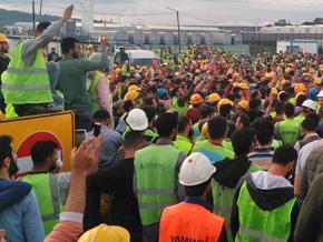 Turquie. 600 travailleurs en grève sur le chantier de l'aéroport d'Istanbul arrêtés et mis en prison !