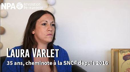 """""""Il est urgent de construire une organisation avec la nouvelle génération ouvrière"""" Laura, cheminote"""