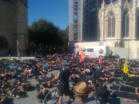 Grève des pompiers : en défense du service public et pour tous les usagers