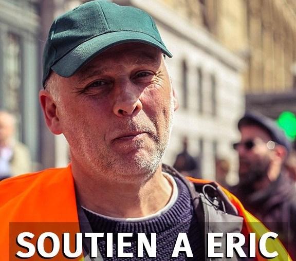 Participez à la cagnotte de soutien à Éric Bezou, cheminot licencié par la SNCF
