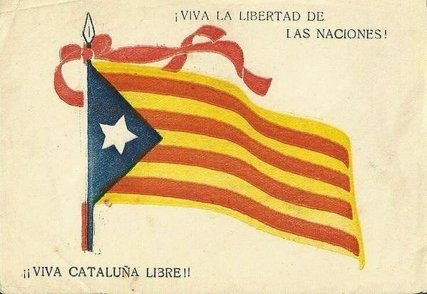 D'où vient le drapeau républicain catalan ?