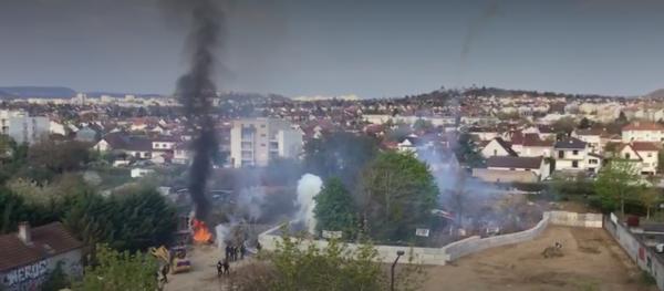Dijon. Interpellations, gaz lacrymogène : la police réprime les occupants des jardins de l'Engrenage