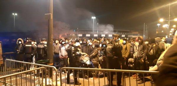 Saint-Denis : au moins 700 personnes à la rue après l'expulsion du camp de migrants de Porte de Paris