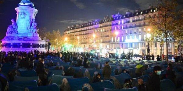 Solidarité avec les sans-papiers matraqués et violentés : rendez-vous à 18h place de la République