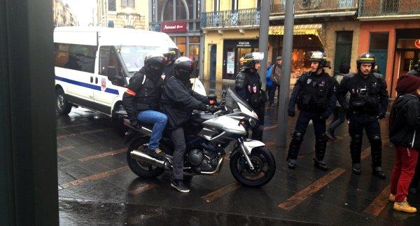 Toulouse, acte 22. Récit d'une chasse à l'homme par des voltigeurs de la BAC : « Nous étions leurs proies »