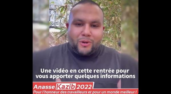 VIDEO. 50 parrainages, infos de rentrée : Anasse Kazib fait le point sur la campagne !