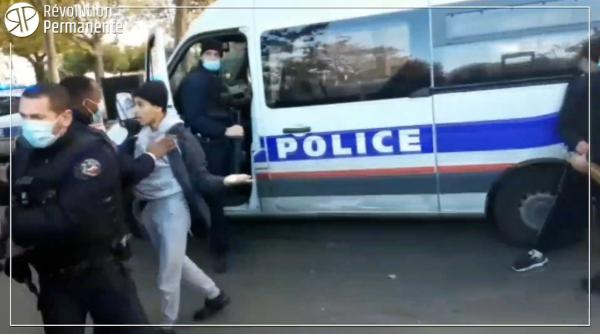 """VIDEO. """"Il a fini en sang"""" : les lycéens de Paul Éluard racontent les violences policières subies"""