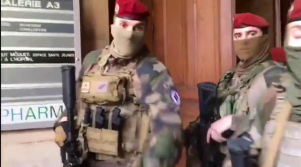 Hôtel-Dieu : des militaires interviennent sur une occupation de sans-abris