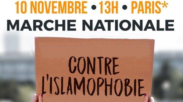 Tribune. Marche du 10 novembre à Paris : nous dirons STOP à l'islamophobie !
