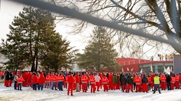 Victoire ouvrière chez Audi Hongrie. « Nous espérons que notre grève rendra les travailleurs plus unis »