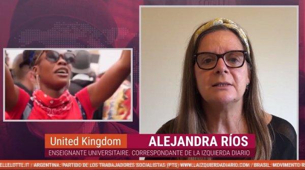 Alejandra Rios : « Le meurtre policier de George Floyd a déclenché des mobilisations mondiales contre le racisme »