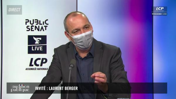 """""""Pas avant 2022"""" : Laurent Berger de la CFDT joue les conseillers de Macron sur la réforme des retraites"""
