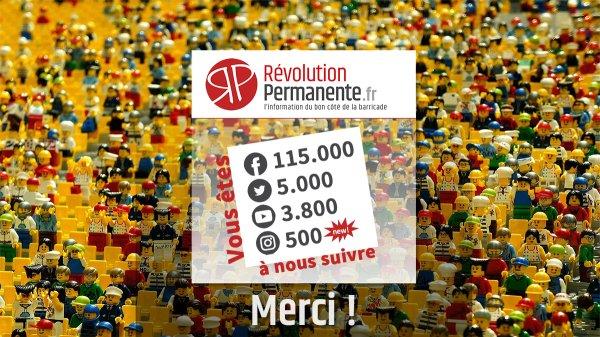 Record de visibilité sur les réseaux sociaux : Révolution Permanente, un outil pour la lutte contre Macron et son monde