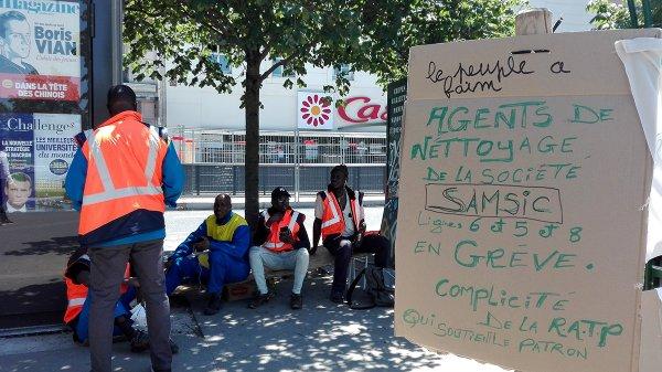 Vidéo. Les raisons de la colère des agents du nettoyage du métro parisien, en grève illimitée