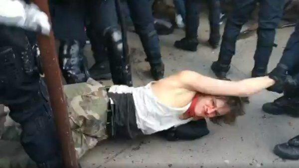 VIDEO. A Paris, ça matraque les manifestants au sol : elles sont ou les vraies violences ?
