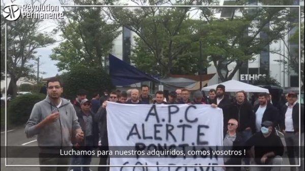 Du Chili à Toulouse : Derichebourg, la solidarité ouvrière n'a pas de frontières !