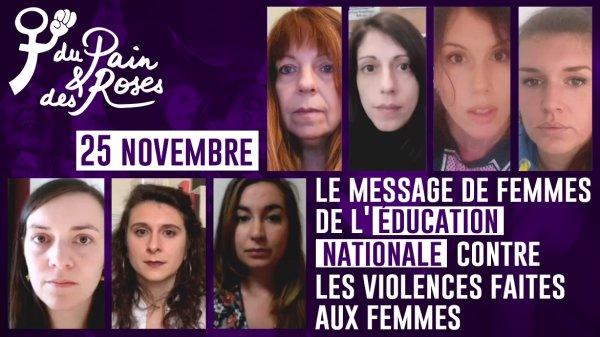 Vidéo. Sexisme à l'école, islamophobie... Femmes de l'Education Nationale contre les violences patriarcales
