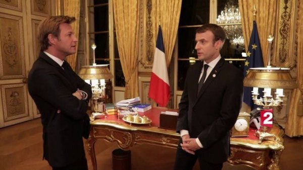 Sur France 2, le retour de l'illusion jupitérienne orchestré par Delahousse