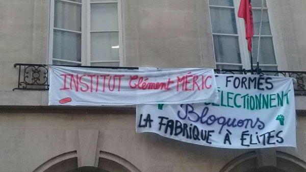 En AG, les étudiants de Sciences Po renomment l'université occupée en institut Clément Méric