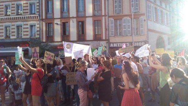 Toulouse. Des centaines de manifestantes pour le droit à l'IVG, réprimées et gazées