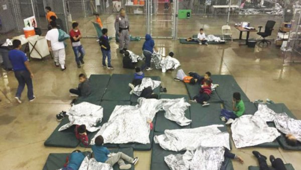 13 000 enfants migrants enfermés dans les prisons de Trump