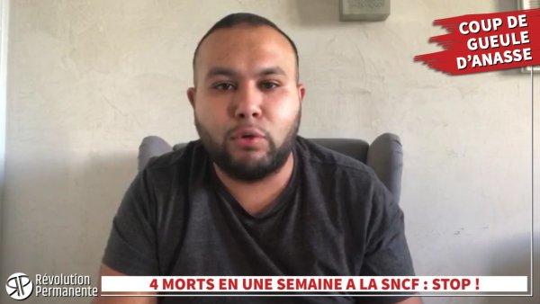 4 morts en une semaine à la SNCF : on ne peut pas laisser faire ! Coup de gueule d'Anasse