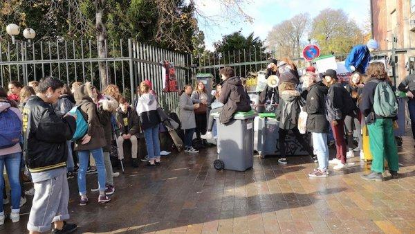 Échos de la mobilisation lycéenne à Toulouse