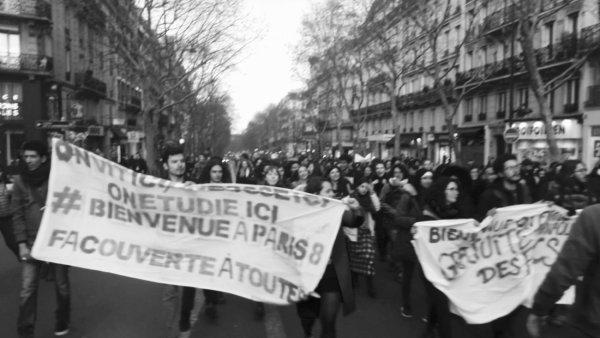 « Mardi noir » à Paris : contre l'élan de la jeunesse, la répression