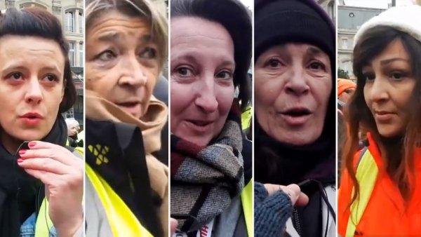 """Vidéo. Ce que ces femmes """"Gilets jaunes"""" ont à dire à Macron"""