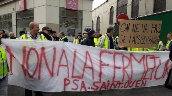 PSA veut fermer l'usine de Saint-Ouen : deuxième jour de grève pour les travailleurs