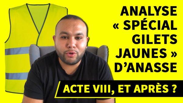Vidéo. Acte VIII, et après ? Analyse « spécial Gilets Jaunes » d'Anasse