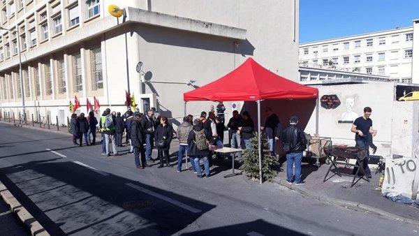 Montpellier : les postiers en grève depuis 16 jours