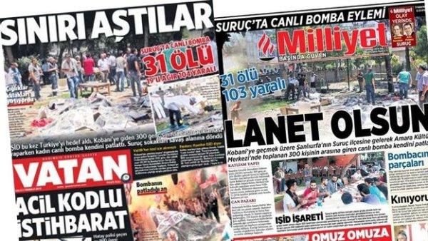 Turquie. 32 militants de gauche massacrés à Suruç