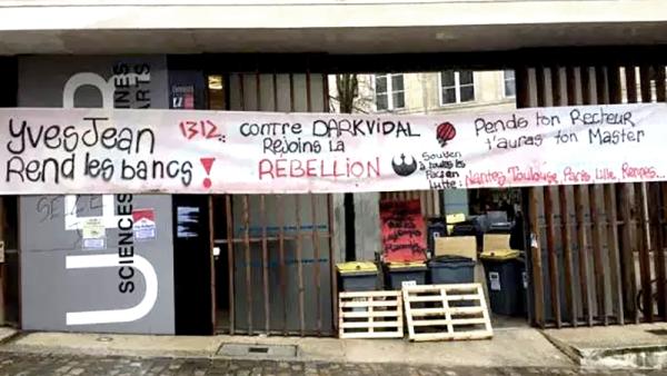 Répression à l'université de Poitiers : 9 étudiants risquent l'exclusion pour s'être mobilisés