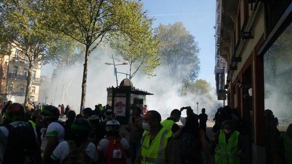 Gilets jaunes, acte 22 : « Toulouse capitale des violences policières ! »