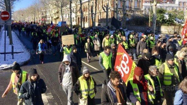 À Saint-Étienne, Gilets Jaunes et syndicats défileront ensemble pour le 1er mai