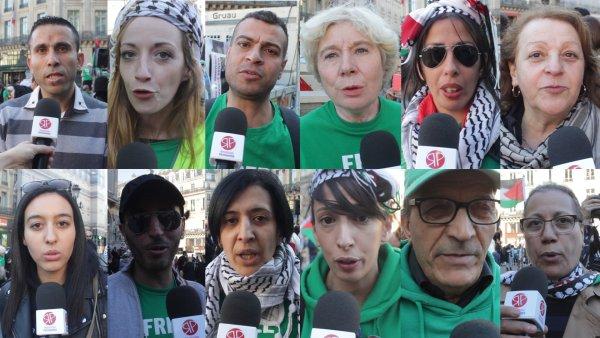Vidéo. Depuis Paris, solidarité avec la lutte du peuple Palestinien !
