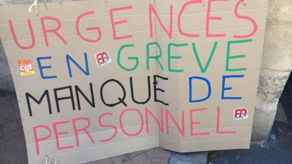Bordeaux. Les urgentistes de l'Hôpital Saint-André en grève illimitée